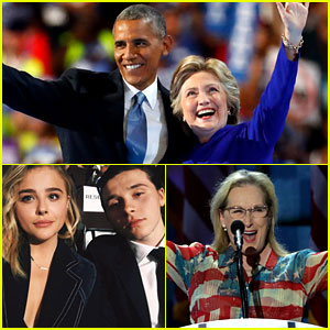 Democratic National Convention - Full Coverage of Celeb Appearances!