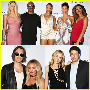 Eddie Murphy, Girlfriend Paige Butcher & Ex Wife Nicole Mitchell Support Daughter Bria At 'Amateur Night' Premiere!