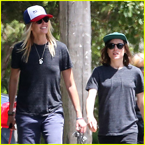 Ellen Page & Girlfriend Samantha Thomas Walk Their Dog in Toronto