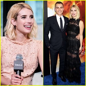 Emma Roberts Pleads the Fifth on 'Scream Queens' Cast Question