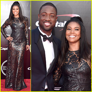 Dwyane Wade & Wife Gabrielle Union Walk ESPYs 2016 Red Carpet