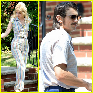 James Franco & Zoe Kazan Get Into Character While Filming 'The Deuce'!