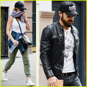 Jennifer Aniston & Justin Theroux Head Out for a Day in NYC