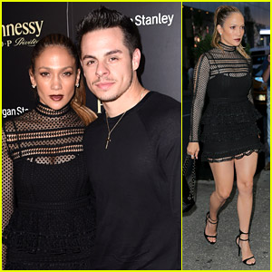 Jennifer Lopez Takes Family to Lin-Manuel Miranda's Last Show