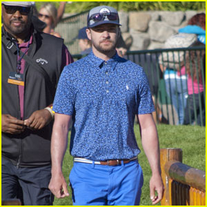 Justin Timberlake Hits the Green at Lake Tahoe Golf Tournament