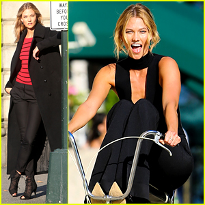 Karlie Kloss Gets Back to Work After Fourth of July Weekend!