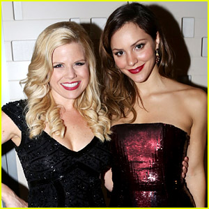 Katharine McPhee & Megan Hilty Perform 'Smash' Songs Together in Los Angeles! (Video)