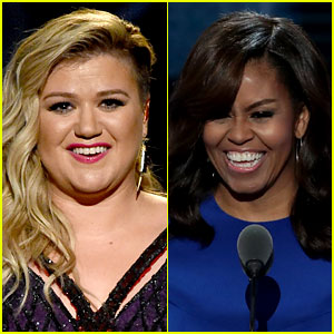 Kelly Clarkson Defends Michelle Obama's Mention of Slaves in DNC Speech