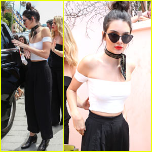 Kendall Jenner Spends the Day