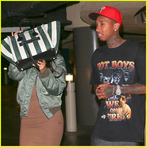 Kylie Jenner is Camera Shy During Movie Date With Tyga