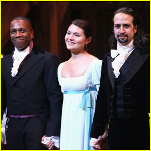Lin-Manuel Miranda & Original 'Hamilton' Cast Say Goodbye Before Final Show