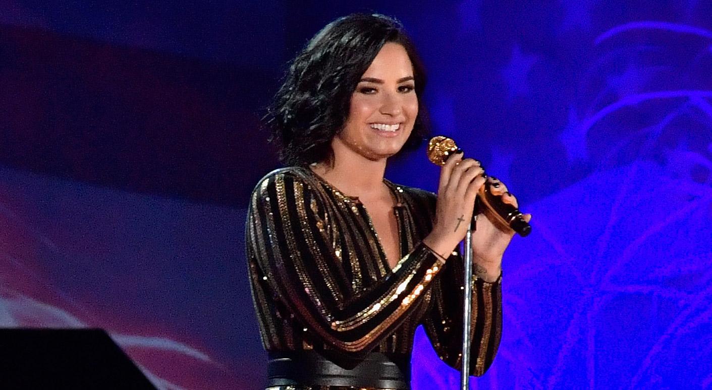 Demi Lovato Performs Amazing 'Purple Rain' Cover on Fourth