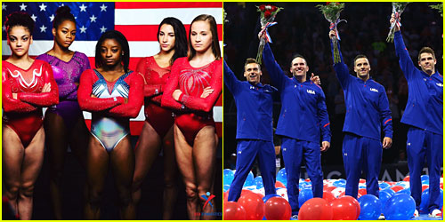 Meet The Women's & Men's Team USA Gymnastics Teams Ahead of Rio Summer Olympic Games!
