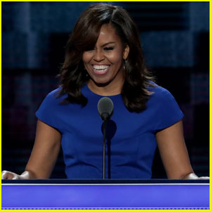 Michelle Obama Gets Personal During Democratic National Convention Speech