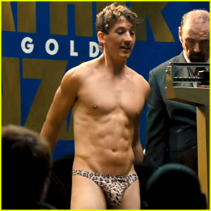 Miles Teller Wears Just a Thong in 'Bleed for This' Trailer