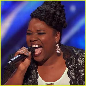 Moya Angela Slays a Celine Dion Song on 'America's Got Talent' (Video)