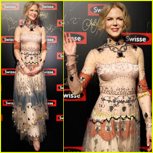 Nicole Kidman Heads to China for Swisse Event