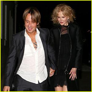 Nicole Kidman & Keith Urban Celebrate Their 10th Anniversary