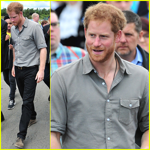 Prince Harry Visits The Blair Project In Support Of Dissadvantaged Children!