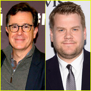Stephen Colbert Responds to Rumors That James Corden will Take Over 'Late Show' Time Slot