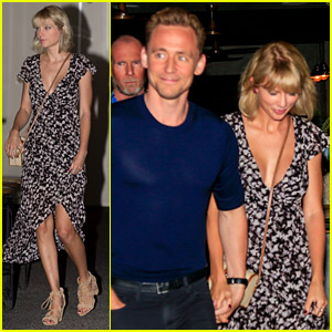 Taylor Swift & Tom Hiddleston Hold Hands on Romantic Dinner Date in Australia