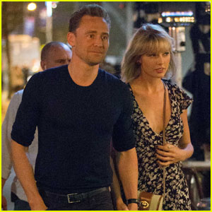 Taylor Swift & Tom Hiddleston Couple Up for Santa Monica Date
