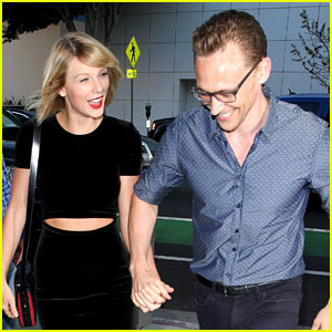 Taylor Swift & Tom Hiddleston Share Adorable Smiles During Date Night in Santa Monica!