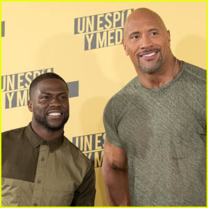 Dwayne Johnson & Kevin Hart Impersonate Each Other for Hilarious New Interview