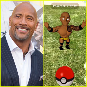 Dwayne 'The Rock' Johnson Gets His Own Pokemon Character in Pokemon Go - Watch Now!