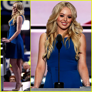 Tiffany Trump Gives Speech at Republican National Convention - Watch Now