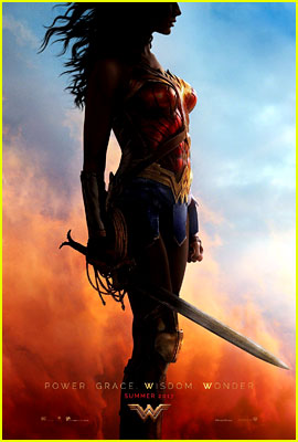 Gal Gadot Debuts First 'Wonder Woman' Movie Poster!