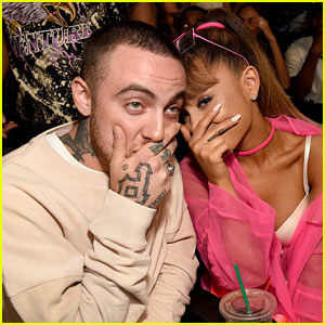 Ariana Grande & Boyfriend Mac Miller Get Silly at MTV VMAs 2016