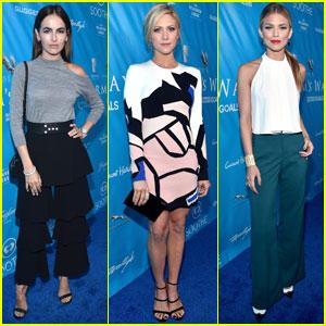 Camilla Belle & Brittany Snow Are Stylish UN Ladies!