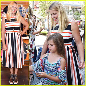 Busy Philipps Hosts Baby2Baby Back To School Event With Daughter Birdie!