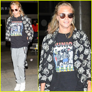 Cara Delevingne Shows Off Her 'Lady Garden' For a Good Cause
