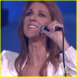 Celine Dion Dedicates 'My Heart Will Go On' to Rene Angelil on 'Greatest Hits' (Video)