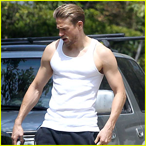 Charlie Hunnam Bares His Toned Physique in a Tank Top