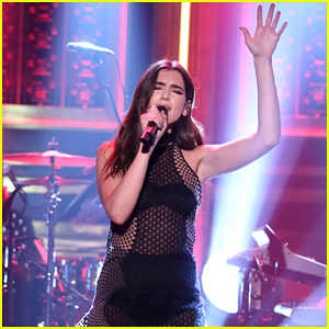 Dua Lipa Makes U.S TV Debut With 'Hotter Than Hell' 'Tonight Show' Performance - Watch Now!