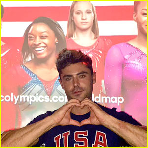 Zac Efron & Simone Biles Get Flirty on Twitter!