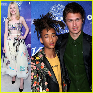 Elle Fanning, Jaden Smith, & Ansel Elgort Celebrate Their Variety Covers at Power of Young Hollywood Event!