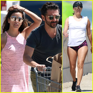 Eva Longoria & Jose Baston Enjoy a Relaxing Sunday Together