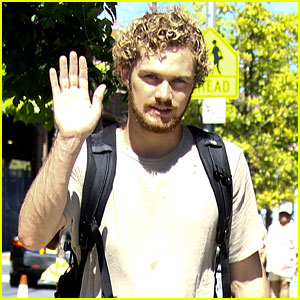 Finn Jones Gets to Work on 'Iron Fist' Set in NYC