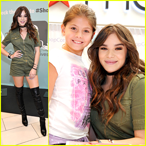 Hailee Steinfeld Meets Fans at Cotton Incorporated Event