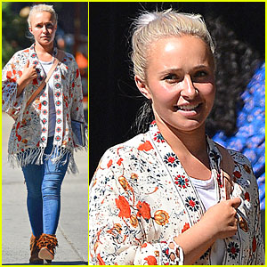 Hayden Panettiere Emerges After Receiving Postpartum Depression Treament