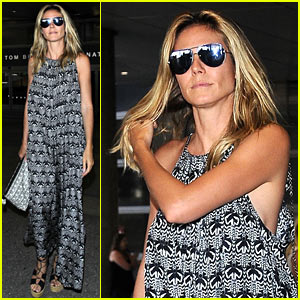 Heidi Klum Heads to Jamaica to Celebrate Her Boyfriend's Birthday!