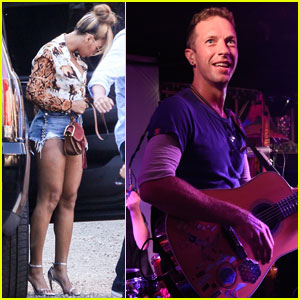Beyonce & Jay Z Attend Private Coldplay Performance in the Hamptons