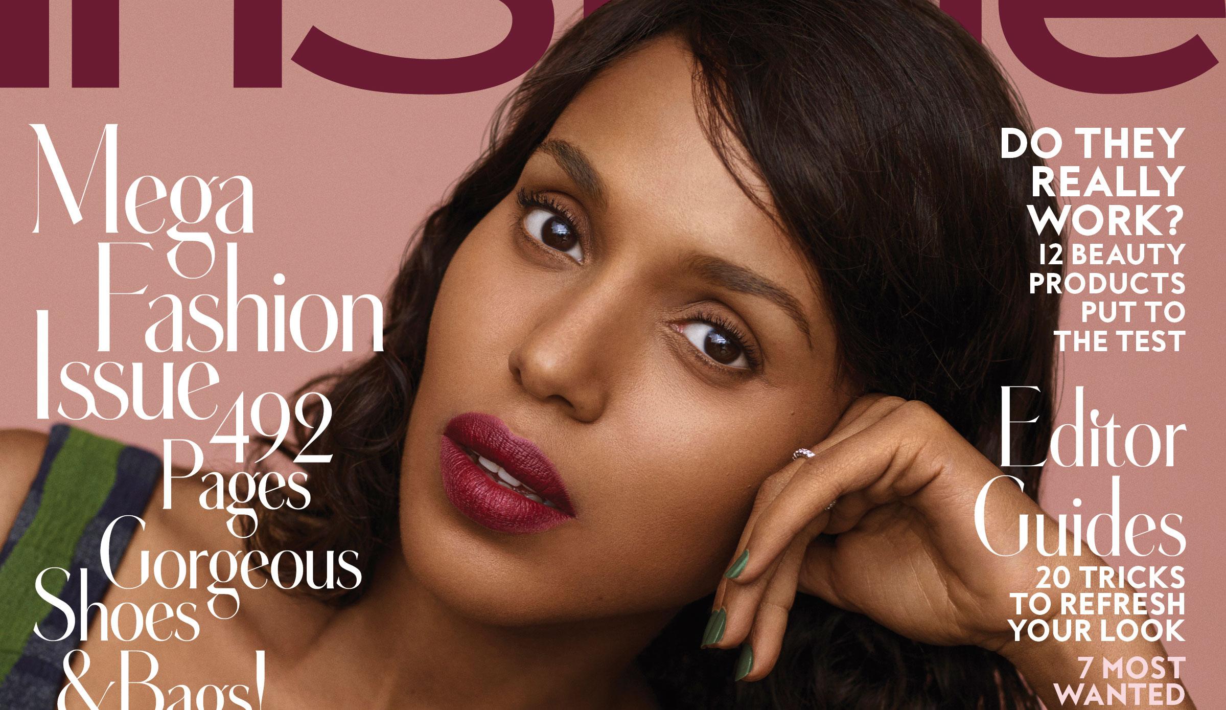 Kerry Washington Responds to InStyle Skin-Lightening