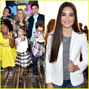 Landry Bender & More Disney Channel Stars Help JJJ Launch the Disney Mix App!