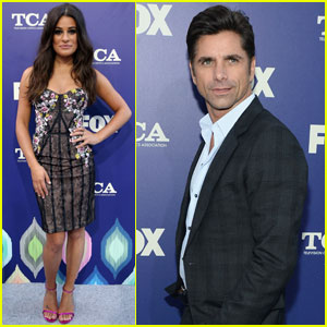 Lea Michele First Met John Stamos When She Was Eight!