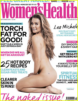 Lea Michele Strips Down for 'Women's Health UK'!